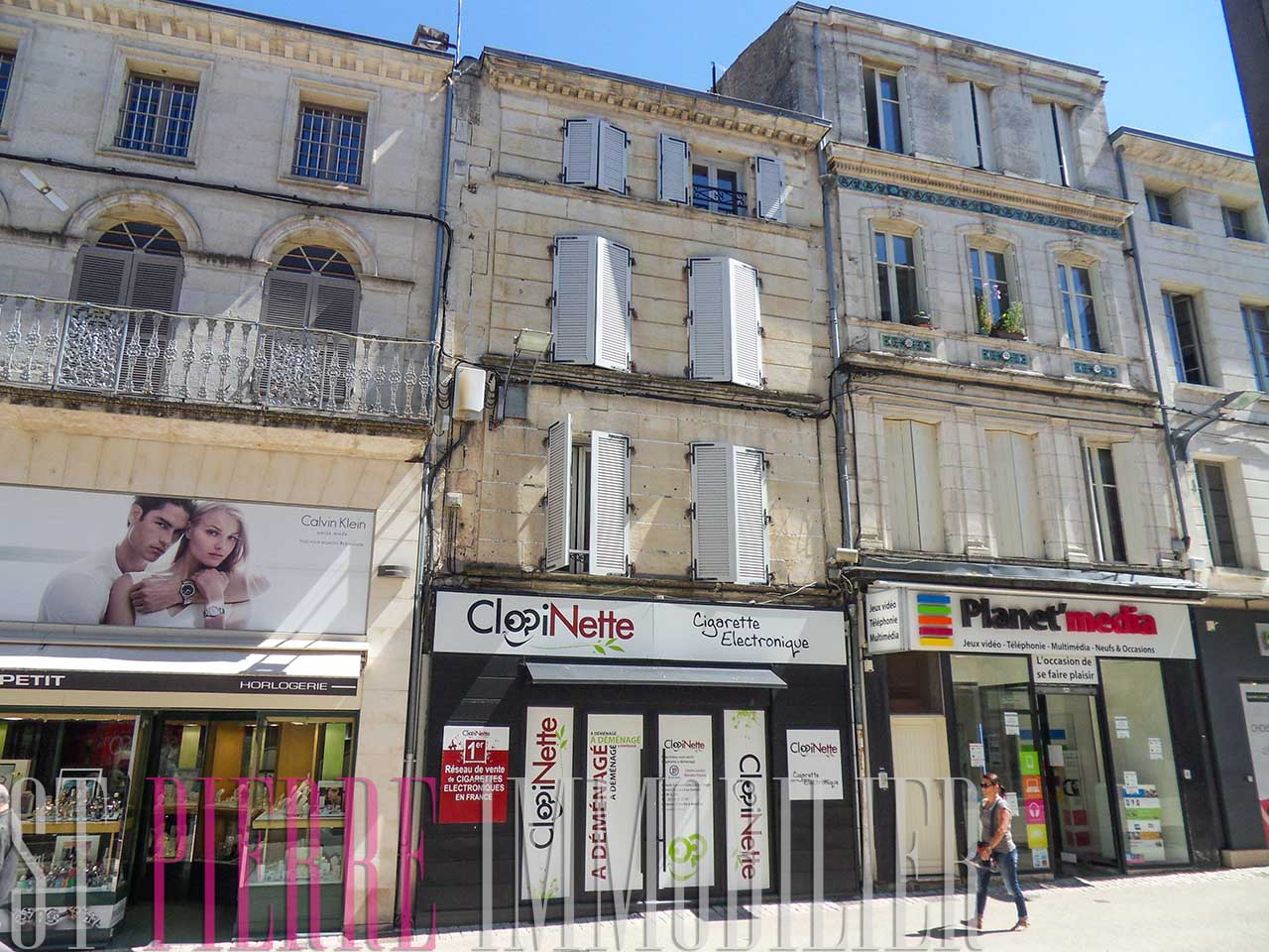 louer local commercial rue ricard niort emplacement n 1 st pierre immobilier niort. Black Bedroom Furniture Sets. Home Design Ideas